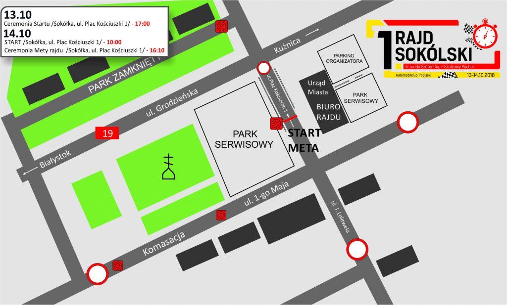 Sokólski 2018 - mapka centrum strona