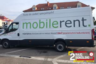 Mobilerent – partner techniczny 2. Rajdu Sokólskiego