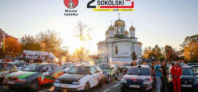 Burmistrz Sokółki – Patronat Honorowy 2. Rajdu Sokólskiego